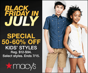 Expired: Save Big at Macy's!